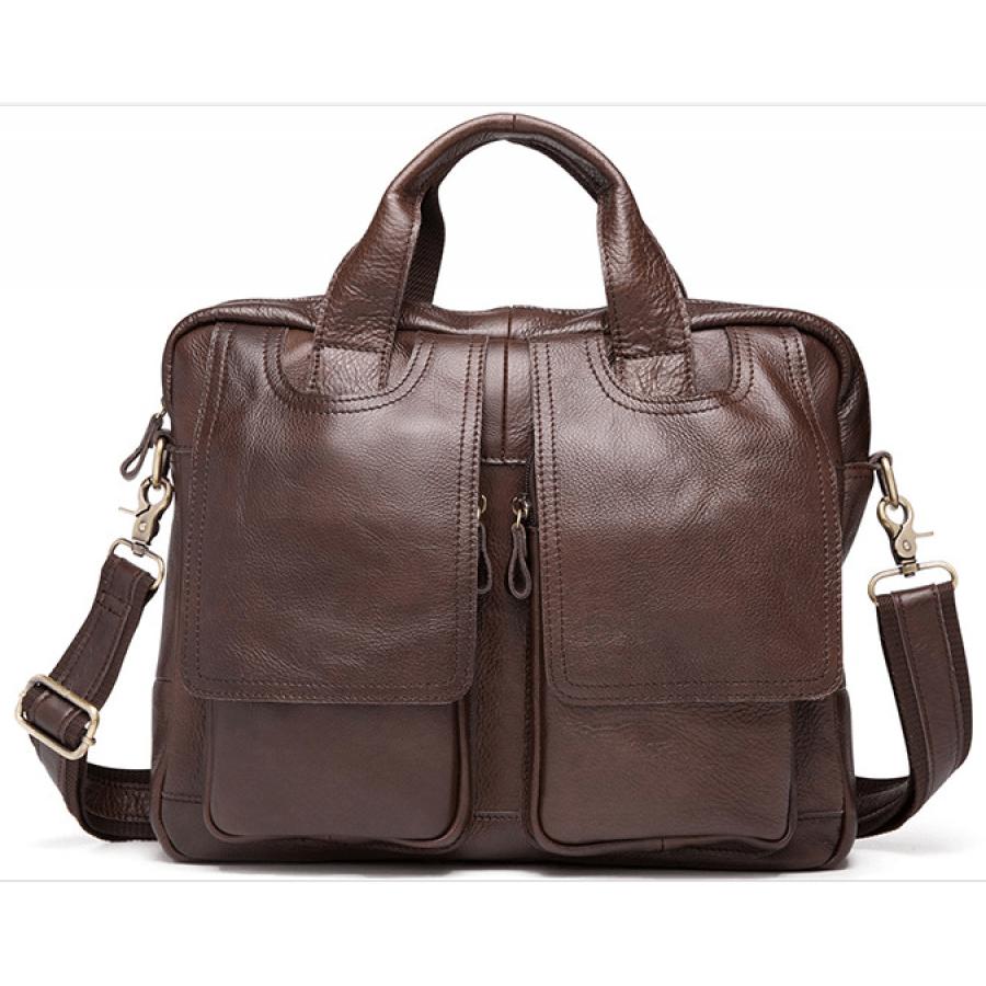 d109695d7abc0 BUSINESS™ Skórzana torba na laptopa