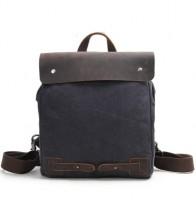 3dfd1abc42de CYRIELLE™ Plecak - torba na ramię płótno - skóra naturalna damska. 4