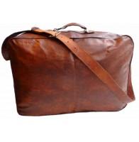 Torba podróżna 'Vintage Holiday 2', skóra kożlęca XL