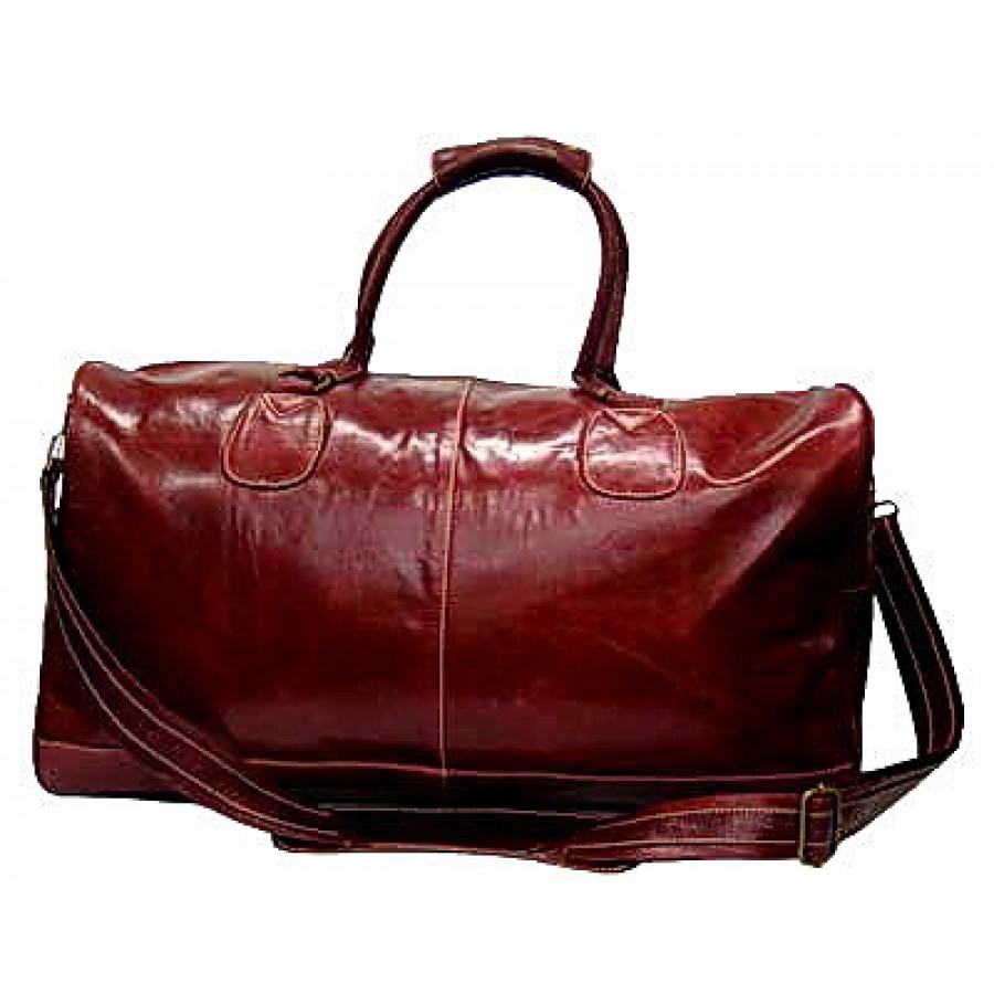 39d855c4c1d0b Torba podróżna Portland Vintage, skóra naturalna, cherry, XL