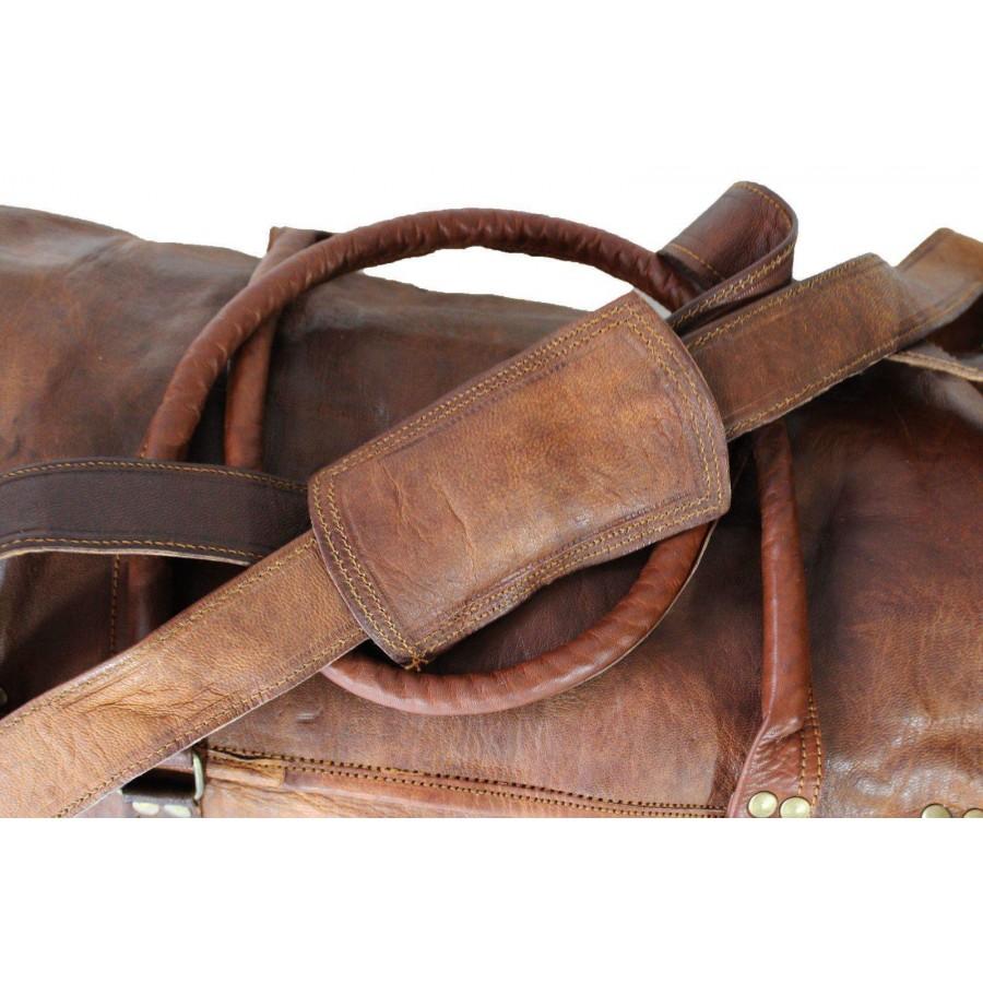 d1a45b9e716a6 Torba podróżna  Vintage Traveler MAX  skóra naturalna