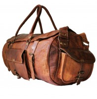 """Torba podróżna 'Vintage Traveler MAX' skóra naturalna, vintage L / 24"""""""
