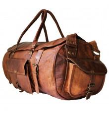 """1. Torba podróżna """"Vintage Traveler MAX' skóra naturalna, vintage L / 24"""""""