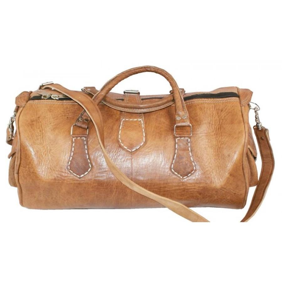 Skórzana torba podróżna XL, ręcznie robiona